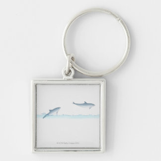 Leaping Dolphin Keychain