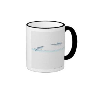 Leaping Dolphin Coffee Mugs
