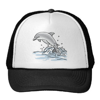 Leaping Dolphin Trucker Hat