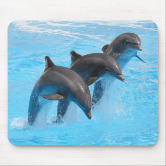 Leaping Dolphins Mouse Mat Mouse Pad