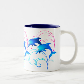 Leaping Dolphins Mug