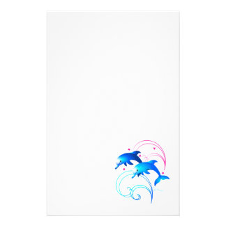 Leaping Dolphins Stationery