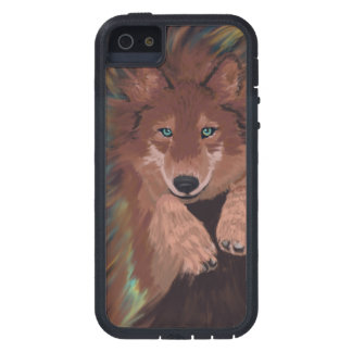 Leaping Dream wolf phone case