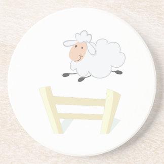 Leaping Ewe Drink Coaster