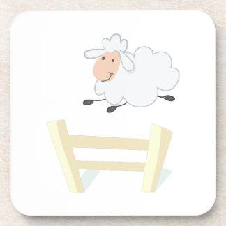 Leaping Ewe Beverage Coaster