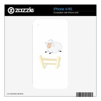 Leaping Ewe Decals For The iPhone 4S