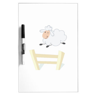 Leaping Ewe Dry-Erase Boards