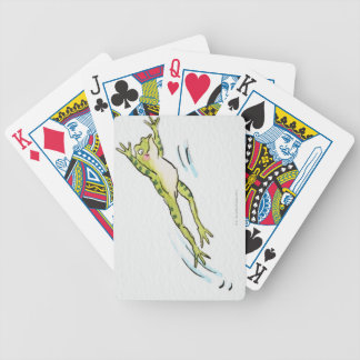 Leaping Frog 2 Bicycle Playing Cards