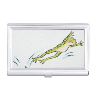 Leaping Frog 2 Business Card Holder