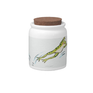 Leaping Frog 2 Candy Jar