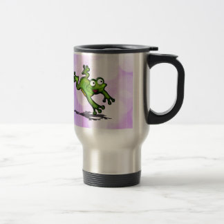 Leaping Frog Customize cute Travel Mug