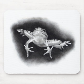 LEAPING FROG: PENCIL REALISM MOUSE PAD