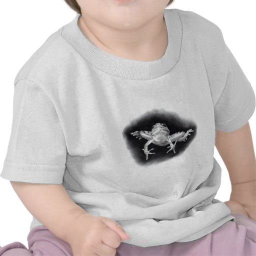 LEAPING FROG: PENCIL REALISM SHIRT