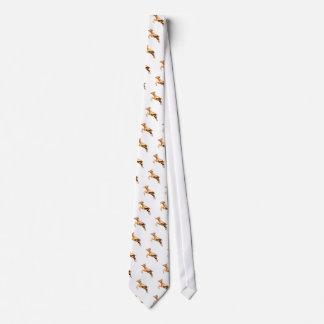 Leaping Gazelle Neck Tie