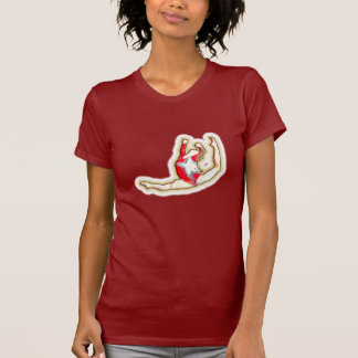 Leaping Gymnast T-Shirt