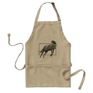 Leaping Horse Adult Apron