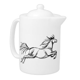 Leaping Horse Teapot