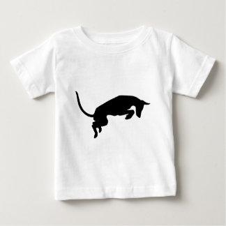 leaping ibizan hound Designed by Caroline Howlett Baby T-Shirt