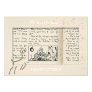 Leaping into Christmas Invitation