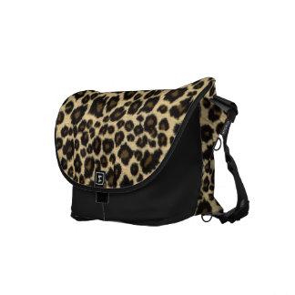 Leaping Leopards Rickshaw Messenger Bag