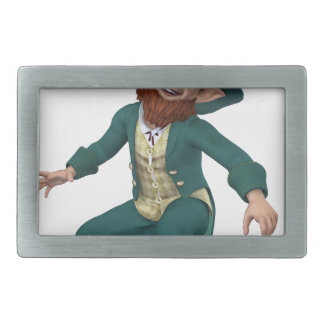 Leaping Leprechaun Belt Buckle