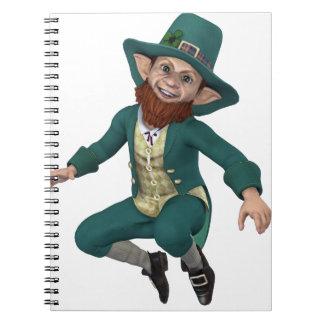Leaping Leprechaun Notebook