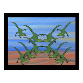 Leaping Lizards Everywhere Postcard