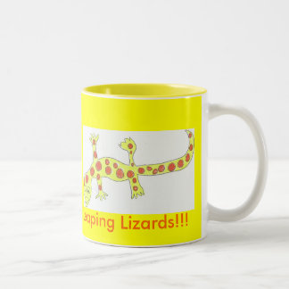 Leaping Lizards Mug