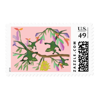 Leaping Lizards Postage