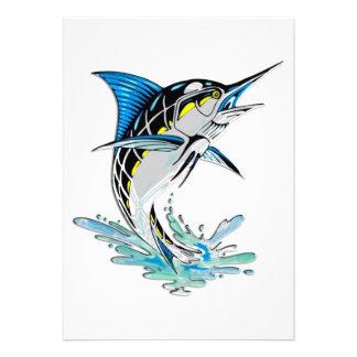 Leaping Marlin Invitation