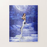 Leaping Mermaid Jigsaw Puzzles