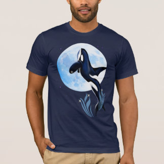 Leaping Orca and Moon Shirts