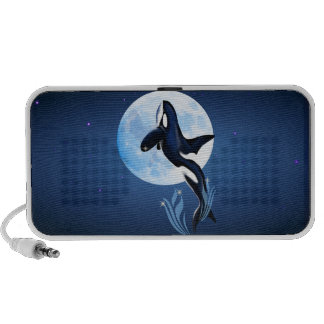 Leaping Orca and Moon Speaker