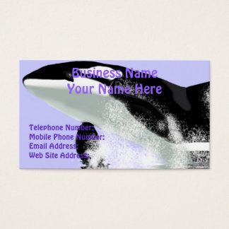 LEAPING ORCA Business & Profile Cards