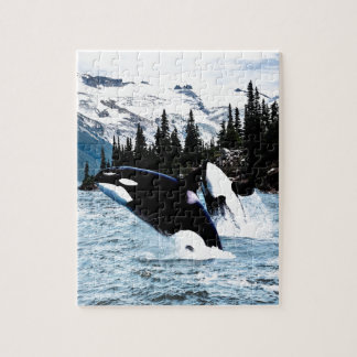 Leaping Orca Jigsaw Puzzle