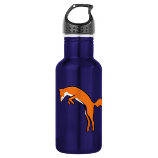 Leaping Red Fox 18oz Water Bottle