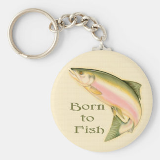 Leaping Salmon Keychains