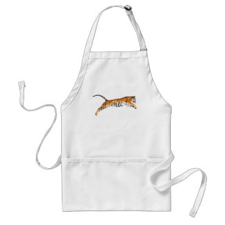 Leaping Tiger Adult Apron