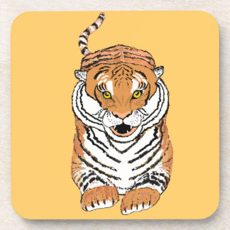 Leaping Tiger Beverage Coaster