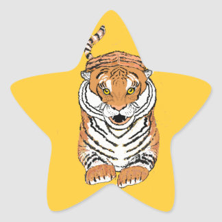 Leaping Tiger products Star Sticker