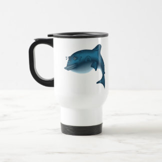 Leaping Whale Gift Travel Mug