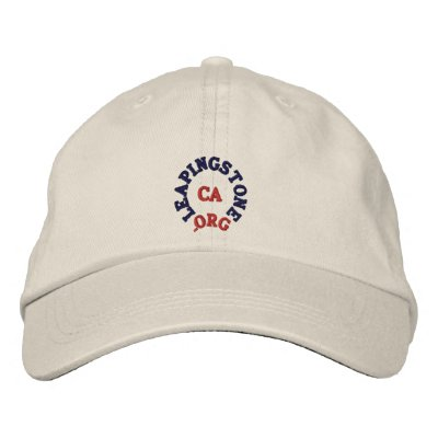 LEAPINGSTONE.ORG  CA HAT EMBROIDERED BASEBALL CAP