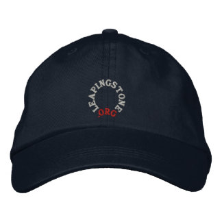 LEAPINGSTONE.ORG HAT EMBROIDERED BASEBALL CAPS