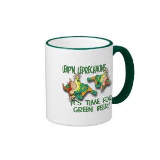 Leap'n Leprechauns Coffee Mugs