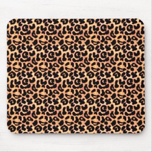 Leapord Print, Animal Print Mouse Pads