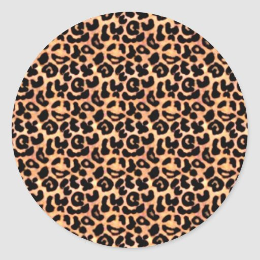 Leapord Print, Animal Print Stickers