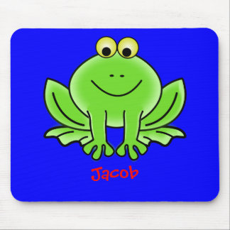 Leapy frog mouse pad
