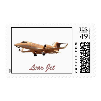 Lear Jet at LAX, Lear Jet Stamps