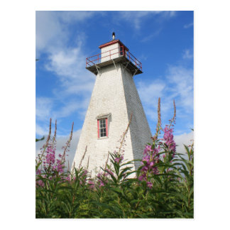 Leard's Back Range Light - Prince Edward Island Postcard