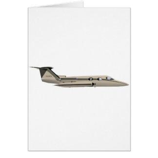 Learjet 23 card